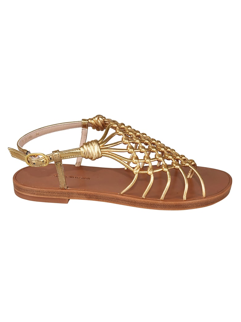 Stuart Weitzman Seaside Sandals - Gold