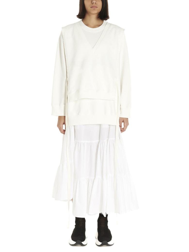 MM6 Maison Margiela Sweatshirt - White