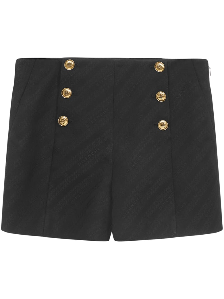 Givenchy Chaine Shorts - Black