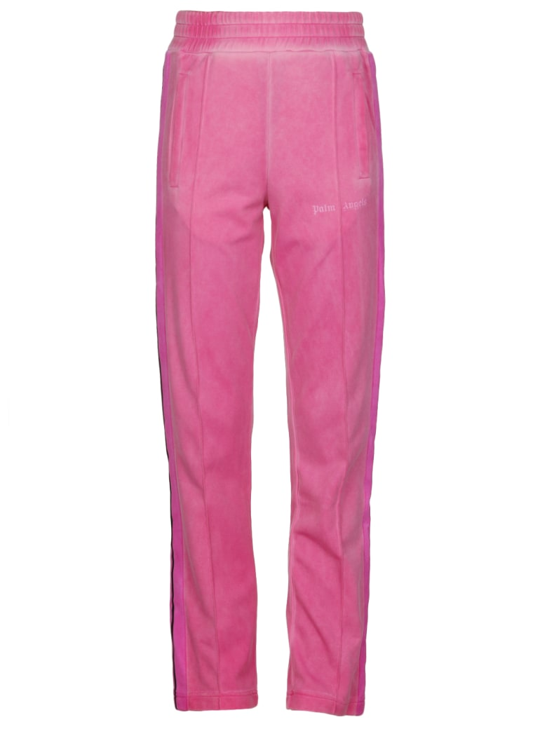 Palm Angels Garment Dyed Track Jogpants - PINK PINK
