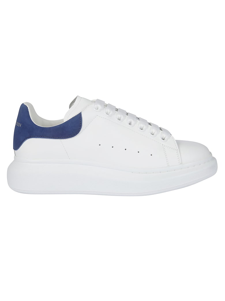 Best price on the market at italist | Alexander McQueen Alexander McQueen  Larry Daim Velour Sneakers