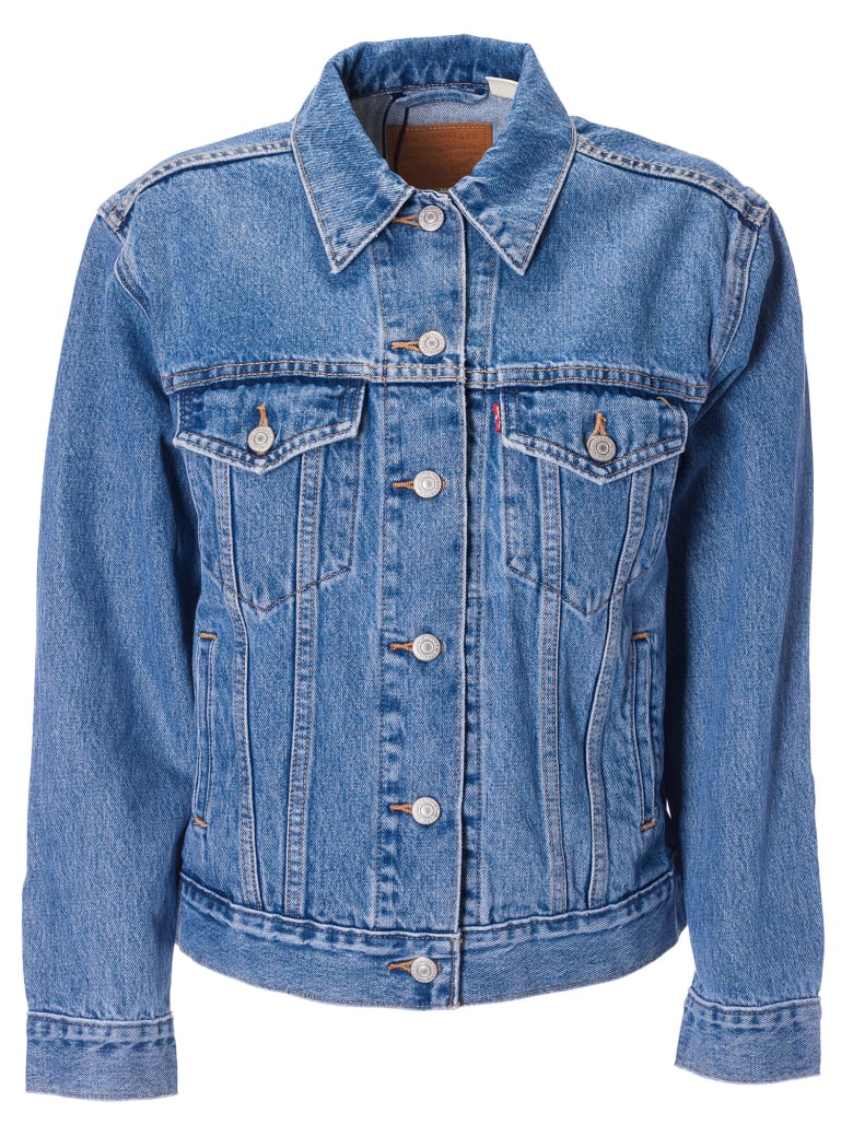 Levi's Buttoned Jacket - Blue