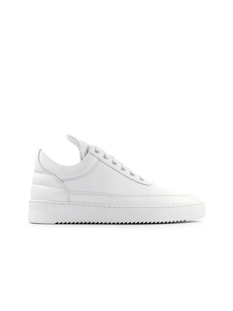 Filling Pieces White Low Top Ripple Lane Sneaker - Bianco (White)