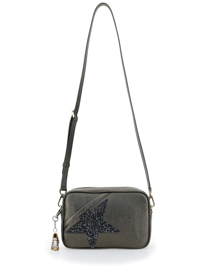 Golden Goose Star Shoulder Bag - Metallic musk/crystal
