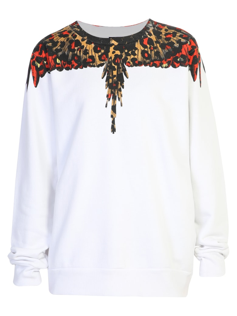 Marcelo Burlon Printed Sweatshirt - White