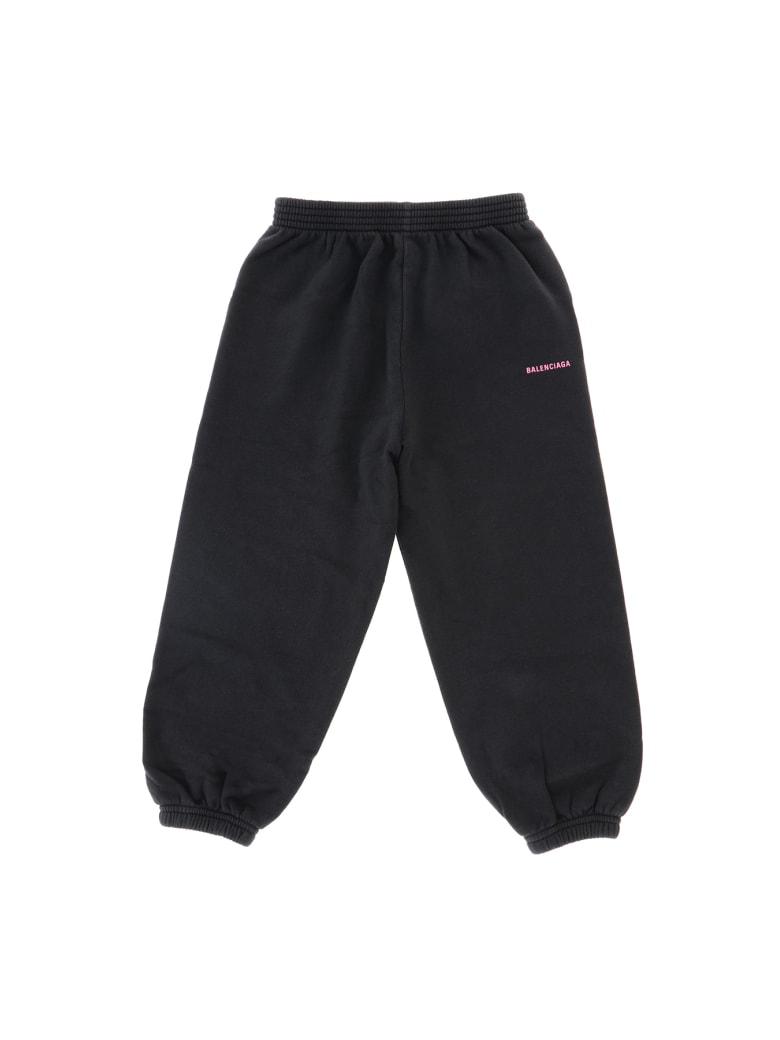 Balenciaga Pantalone Jogging - Nero