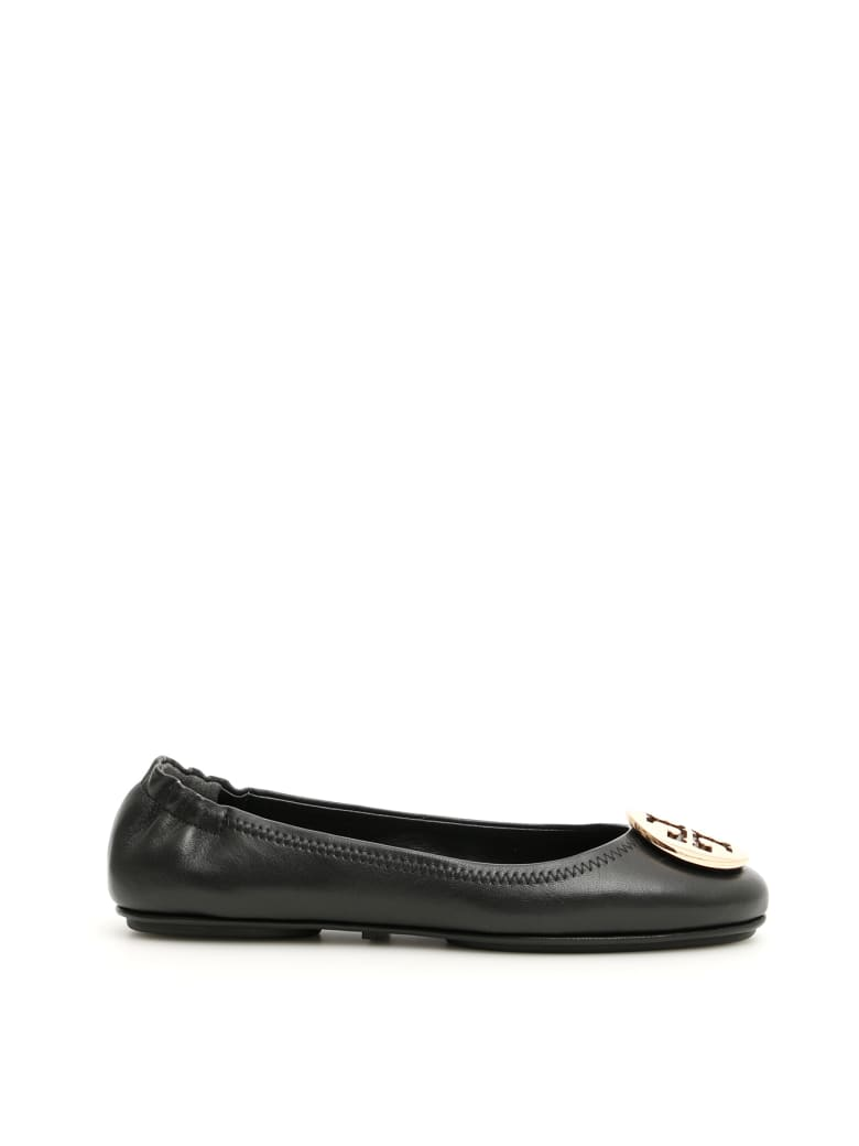 Tory Burch Minnie Travel Flats - Nero