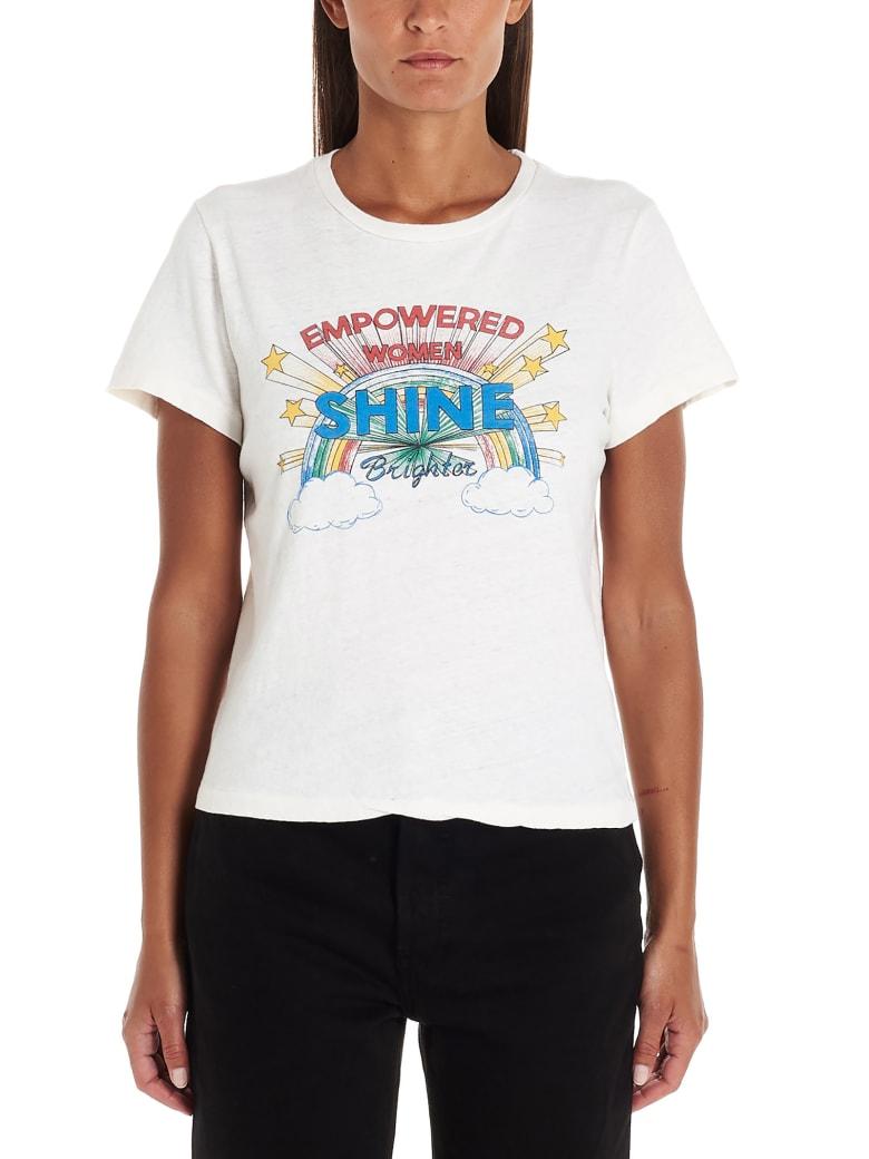 RE/DONE 'empowered Women Shine' T-shirt - White