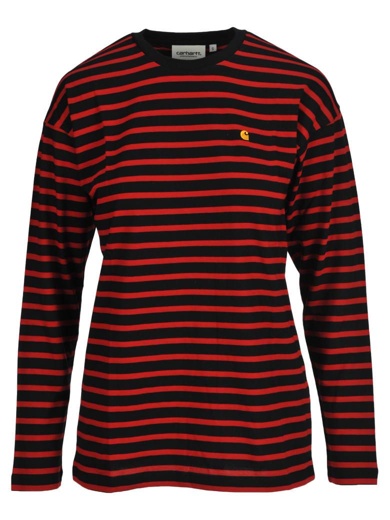 Carhartt Carharrt Stripped Long Sleeves T-shirt - RED STRIPES