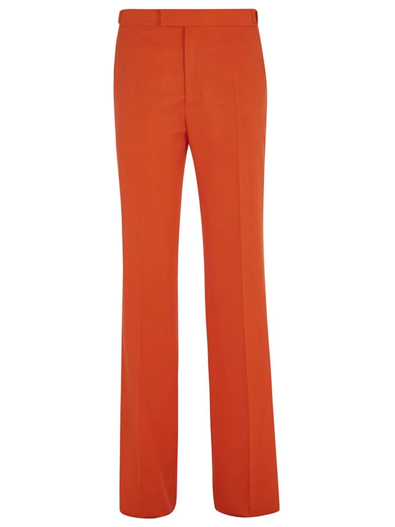 The Attico Long Straight Trousers - Orange