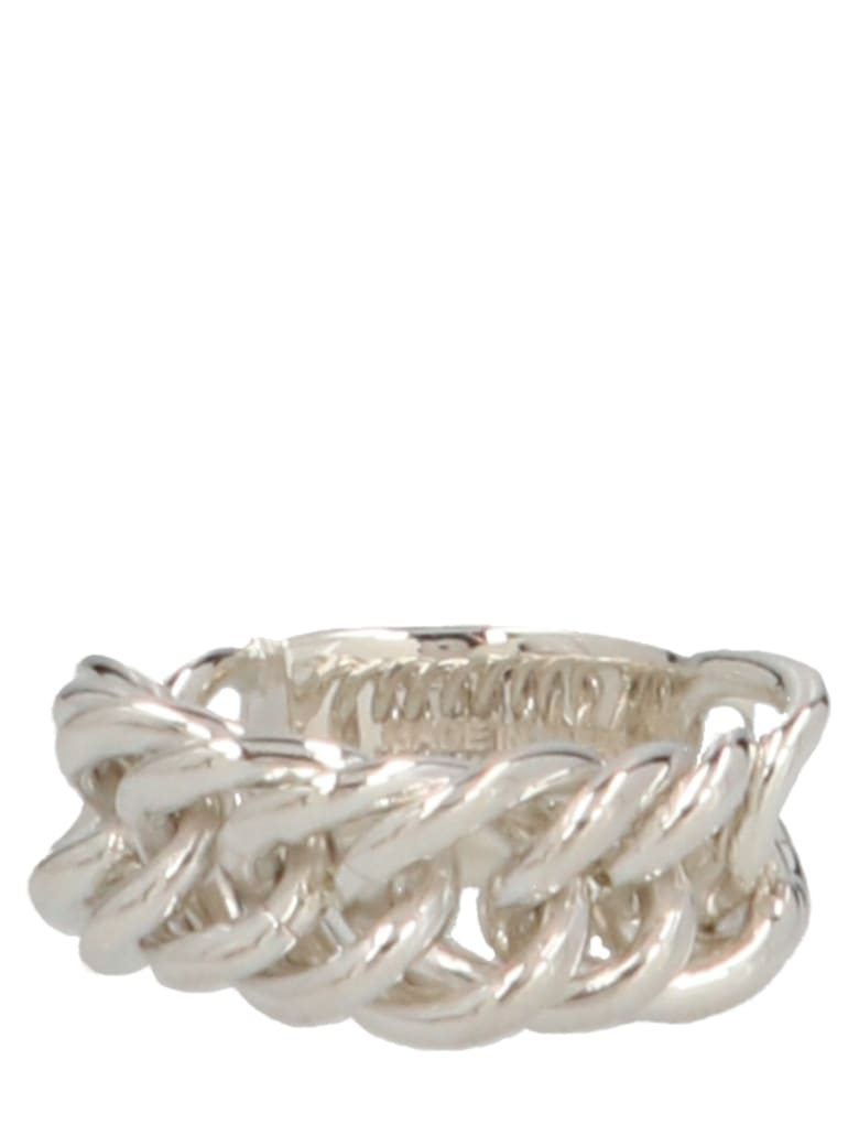 AMBUSH 'chain' Ring - Silver