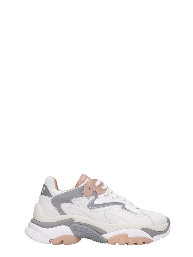 Ash Addict 08 Sneakers In White Tech/synthetic - white