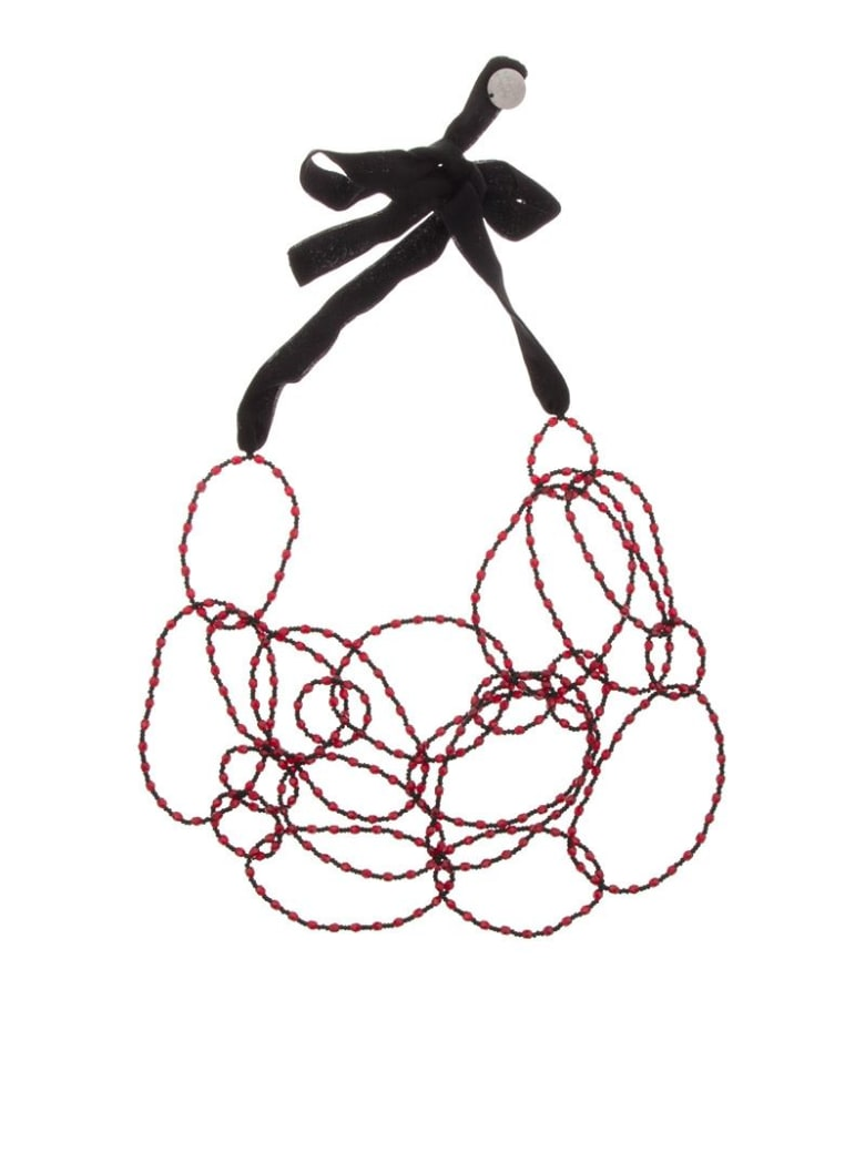 Maria Calderara - Necklace - Bordeaux