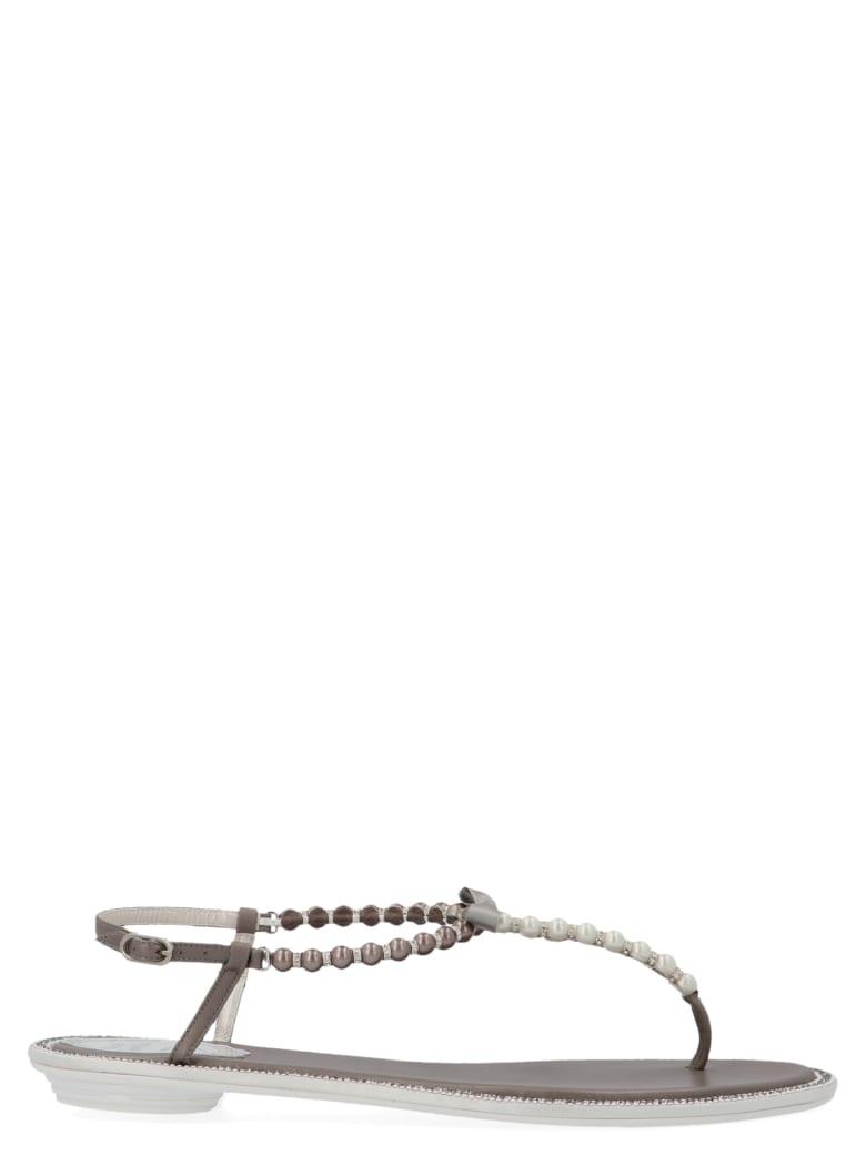 René Caovilla 'eliza' Shoes - Silver