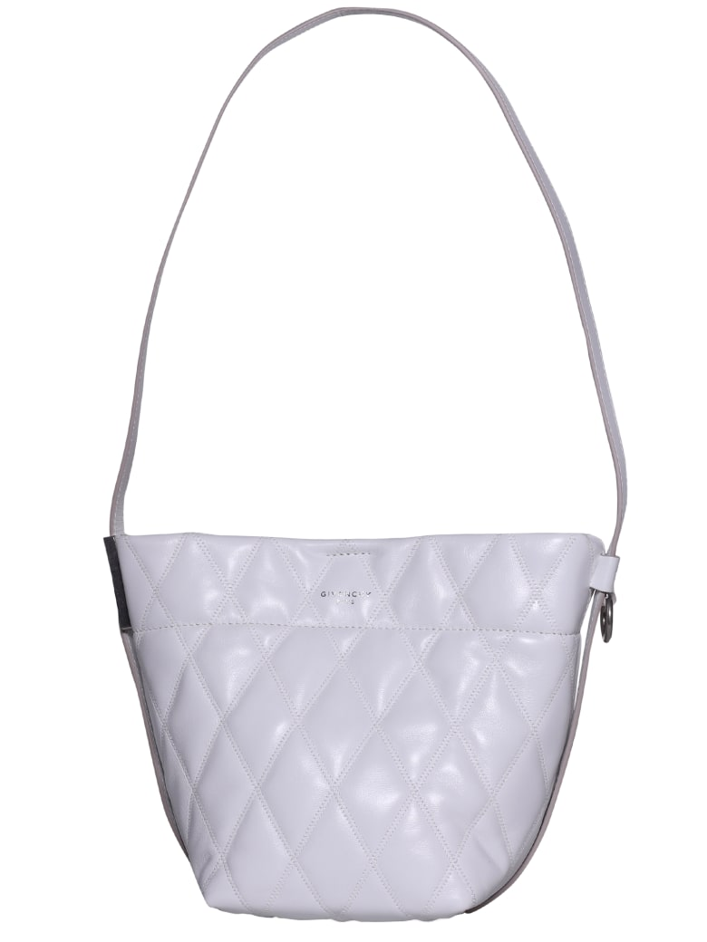 Givenchy Mini Gv Bucket Bag - White