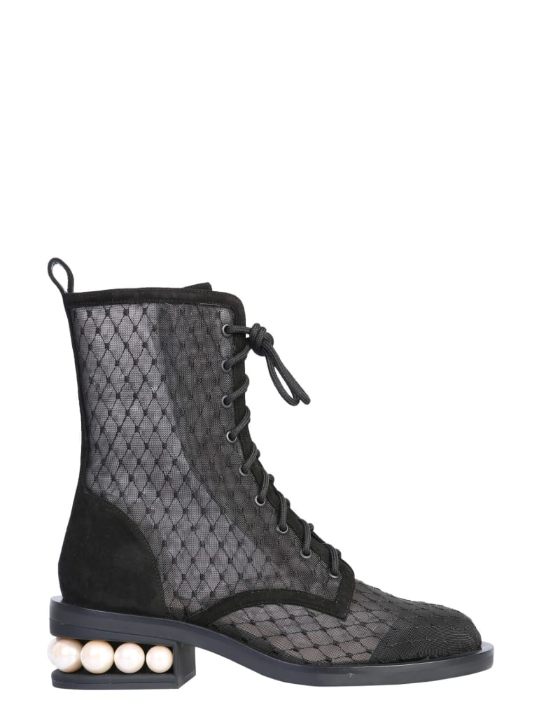 Nicholas Kirkwood Casati Boots - NERO