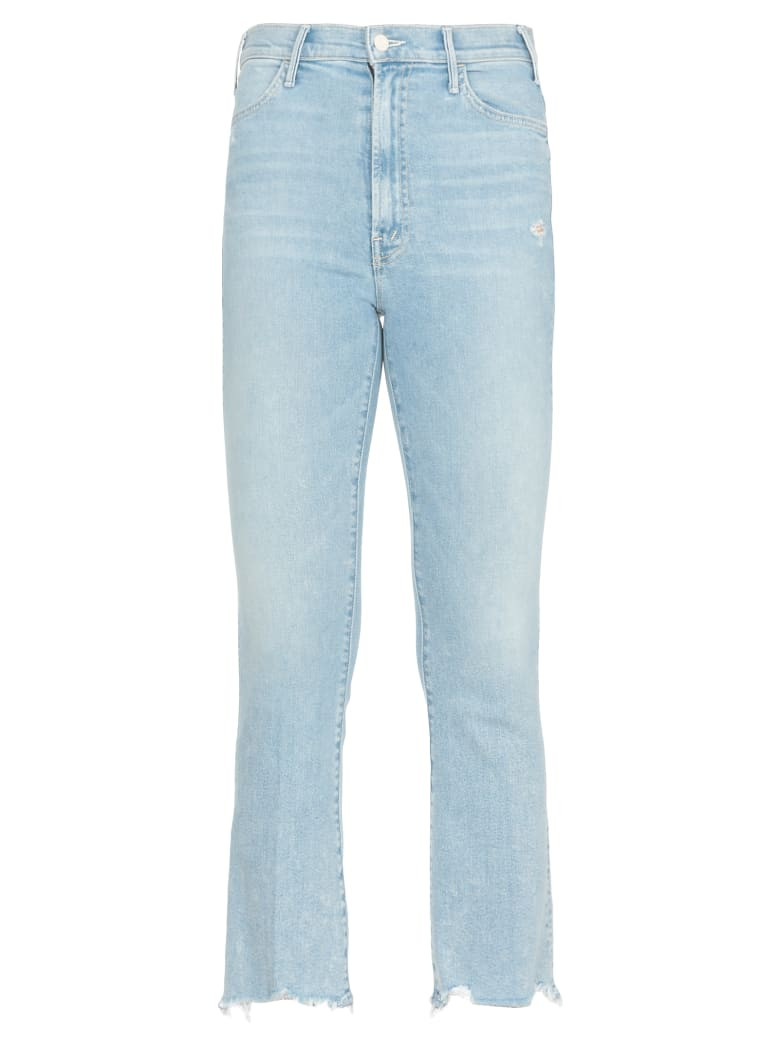 Mother Cotton Jeans - BLUE