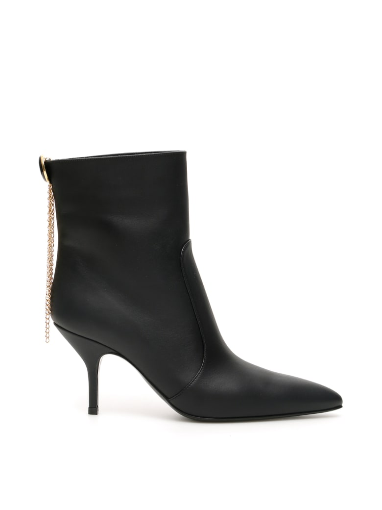 Magda Butrym Egypt Charm Ankle Boots - BLACK (Black)