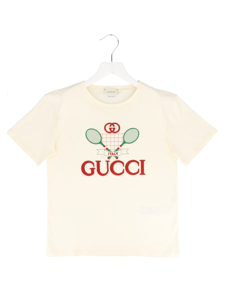 Gucci 'tennis' T-shirt - Beige