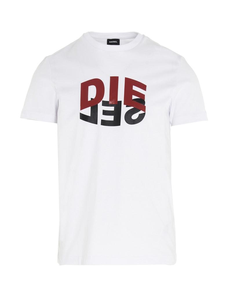Diesel 't-diego' T-shirt - White