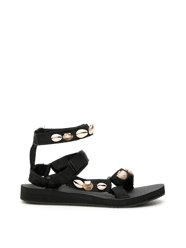 Arizona Love Shell Trekky Sandals - SHELL (Black)