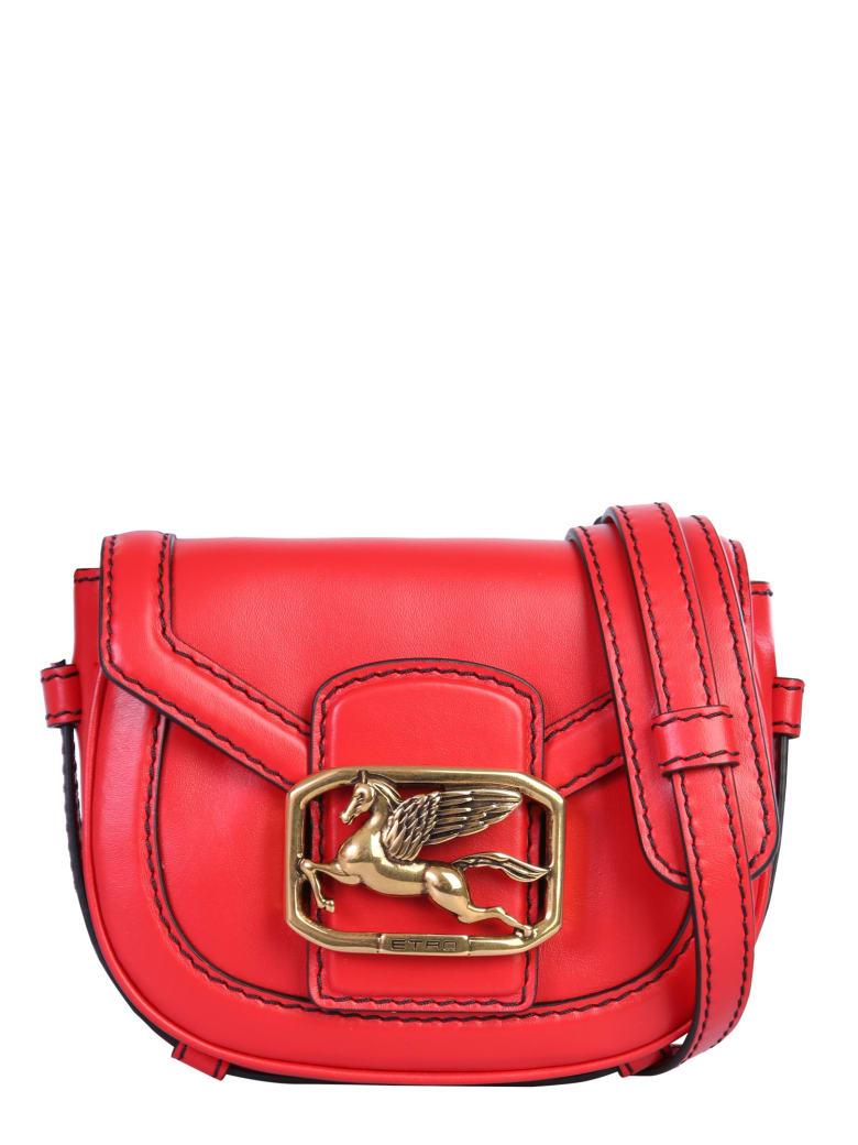 Etro Pegaso Shoulder Bag - ROSSO