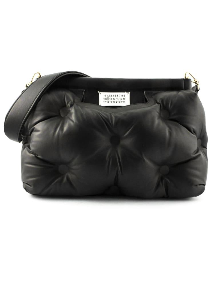 Maison Margiela Black Glam Slam Medium Bag - Nero
