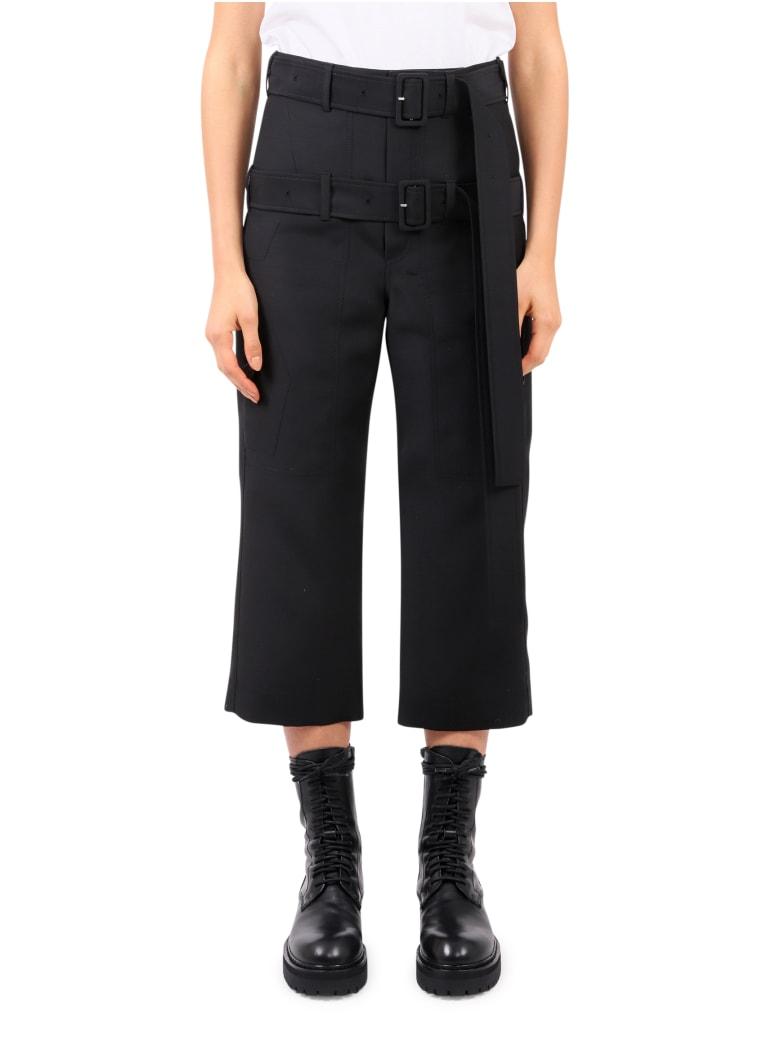 Lanvin Black Cropped Trousers - Black