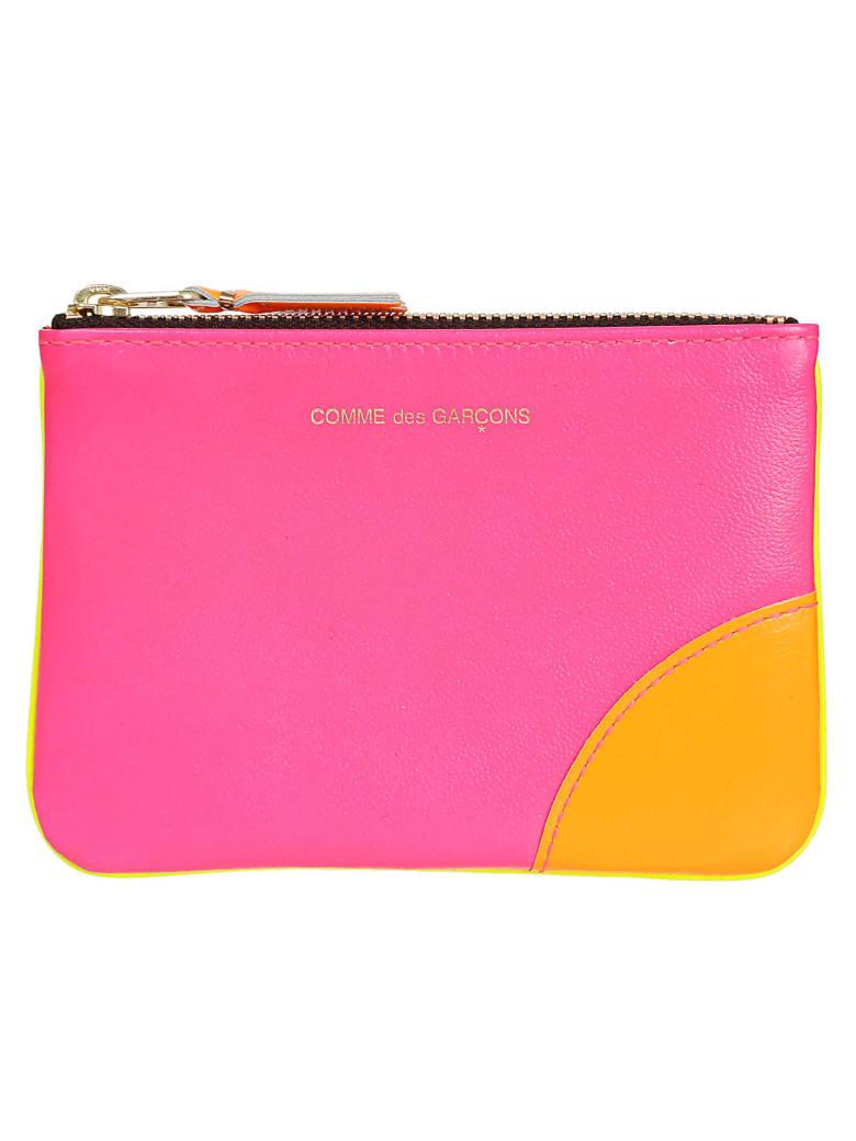 Comme des Garçons Wallet Super Fluo - Rosa/giallo