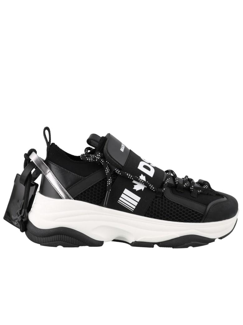 Dsquared2 D-bumpy Sneakers - Black white