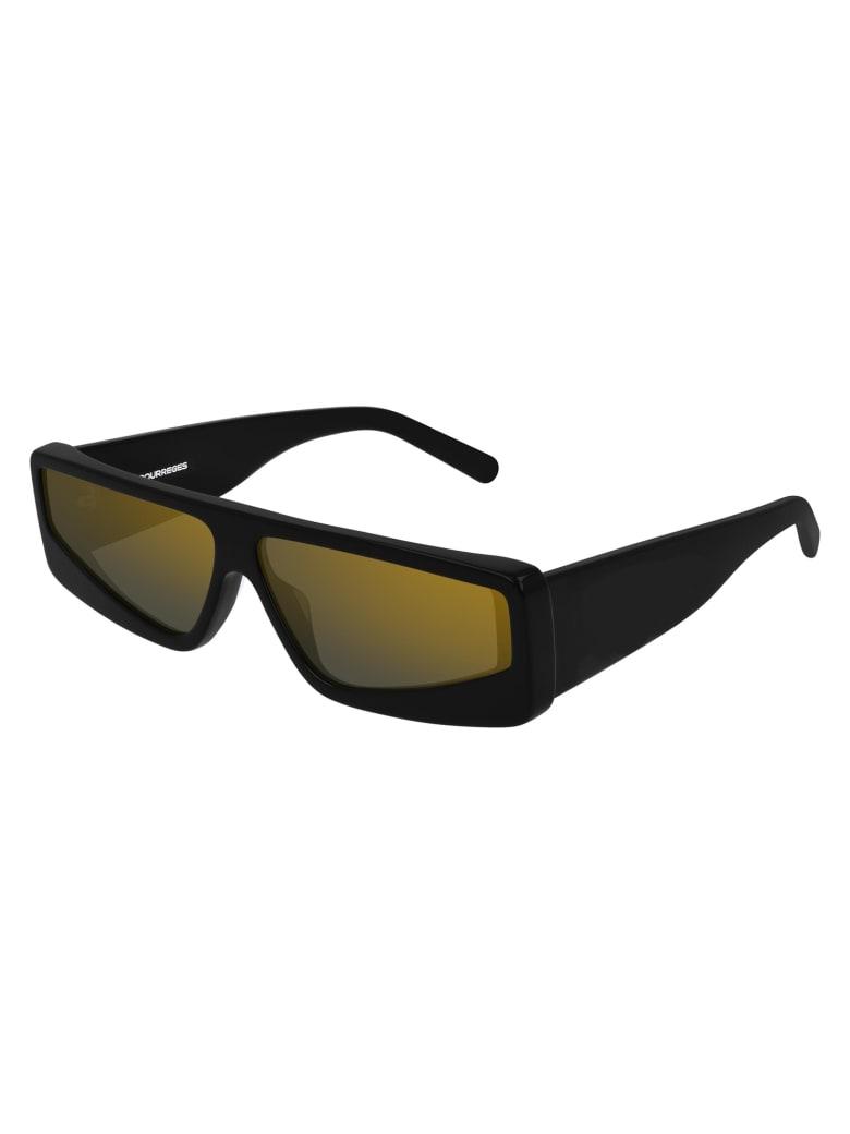 Courrèges CL1906 Sunglasses - Black Black Grey