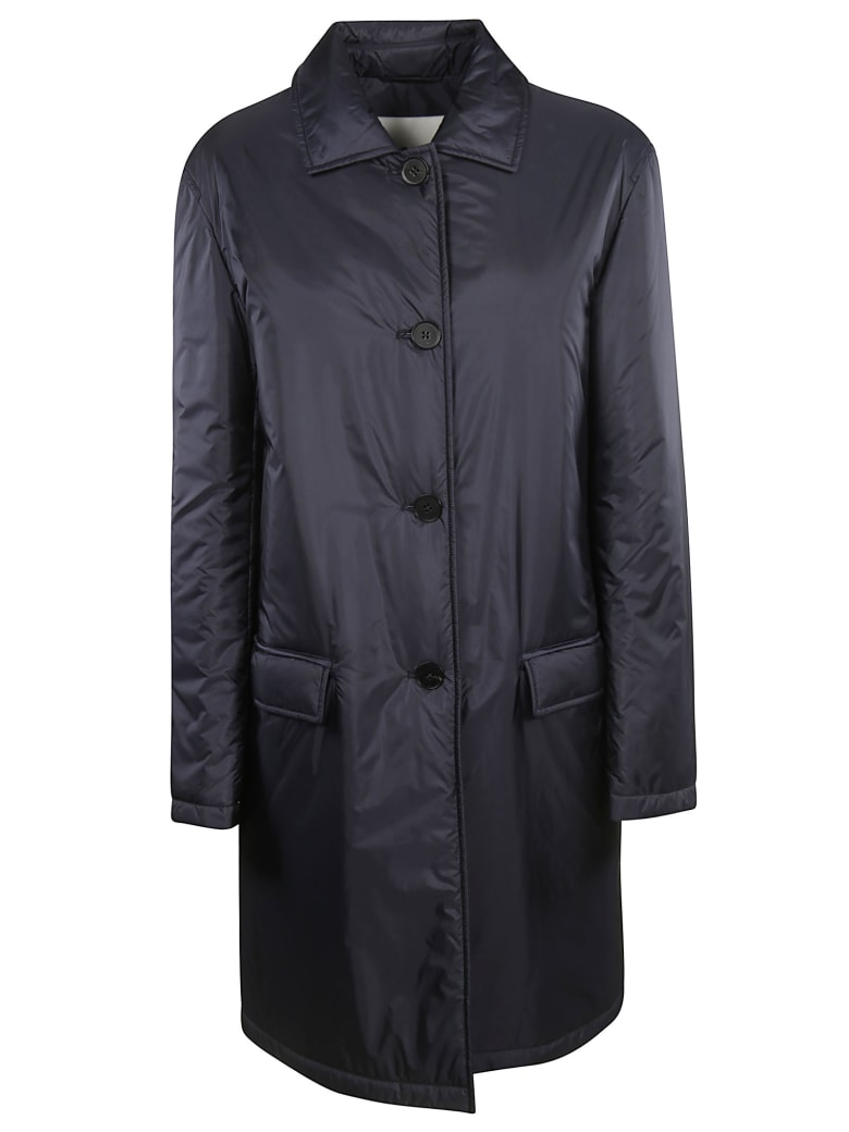 Jil Sander Lauton Long Coat - Black