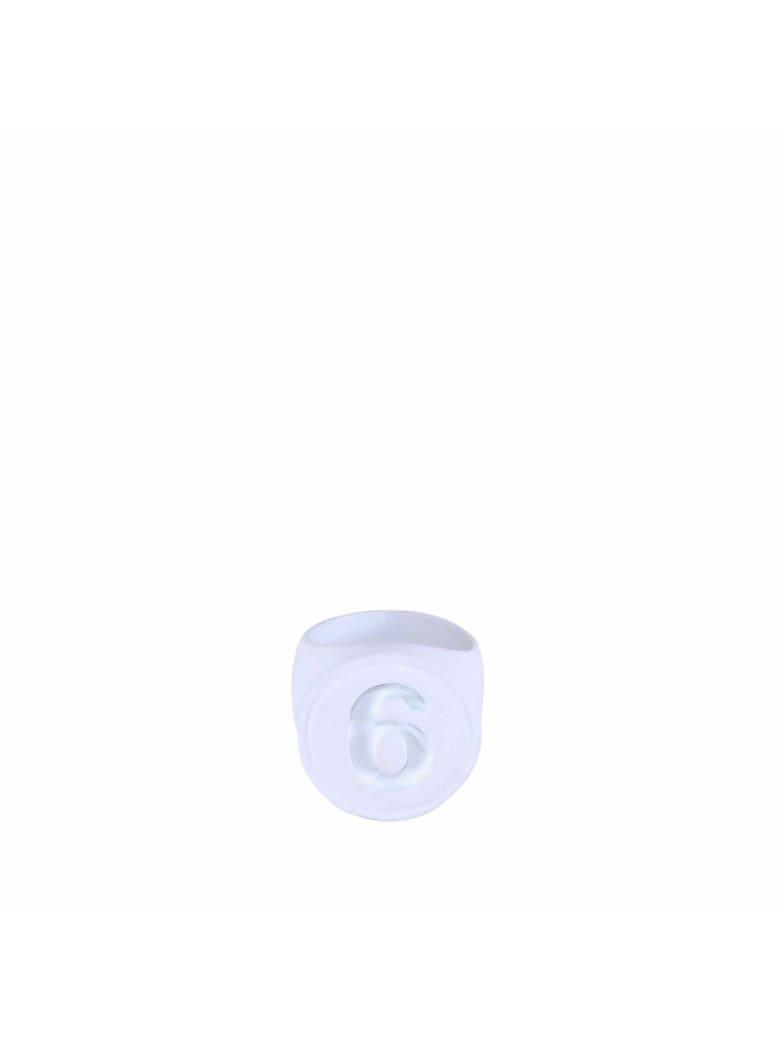 MM6 Maison Margiela Ring - White
