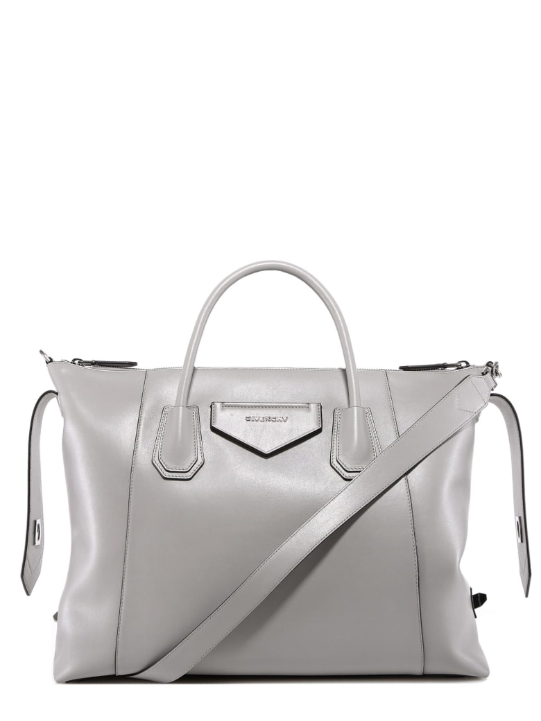 Givenchy Medium Antigona Soft Tote Bag - Grigio chiaro