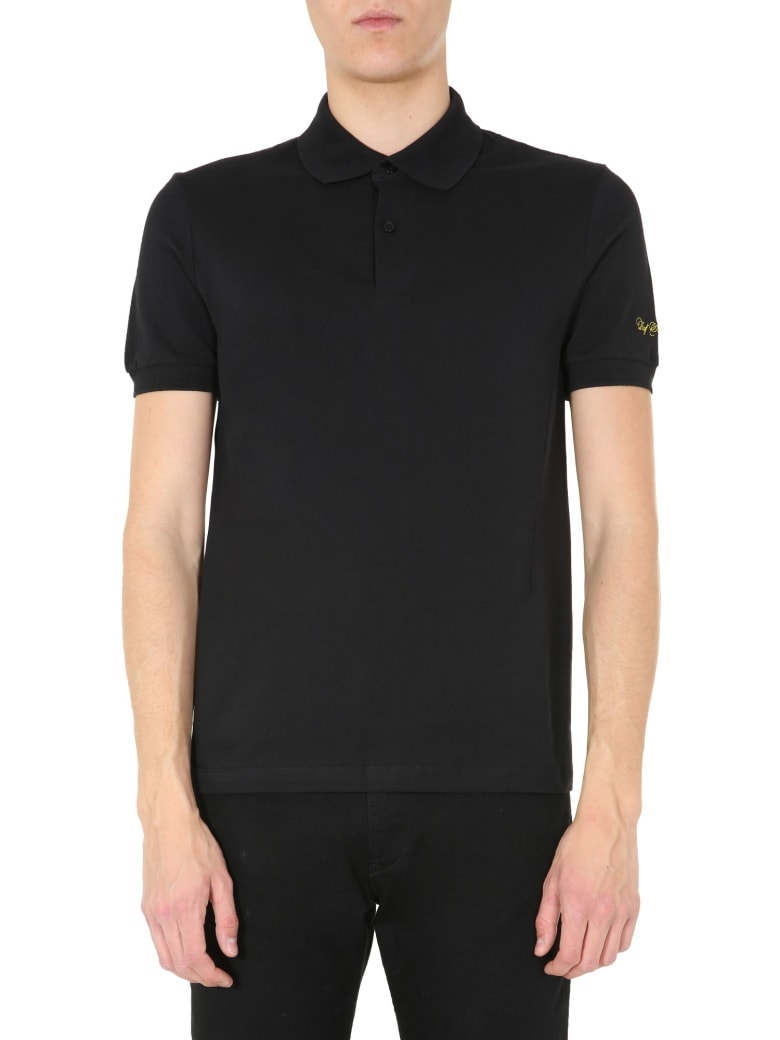 Fred Perry by Raf Simons Slim Fit Polo - NERO