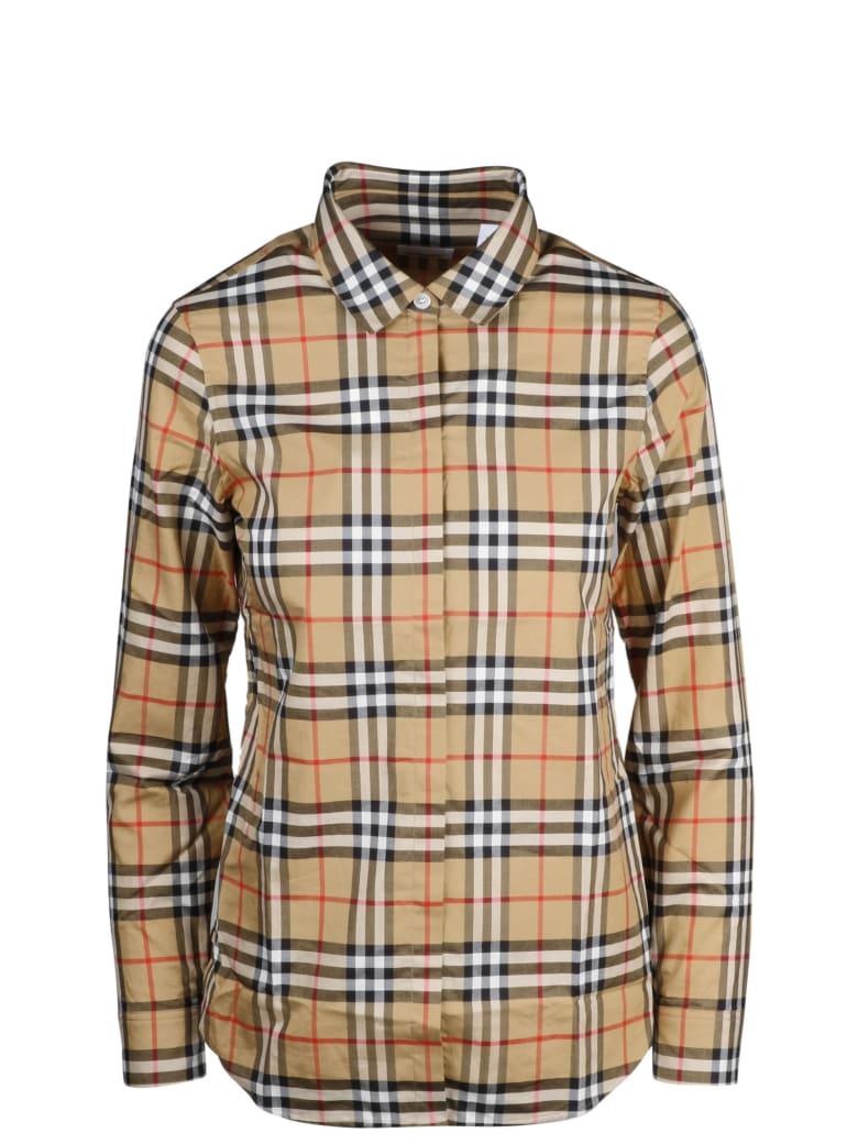 Burberry Shirt - Brown