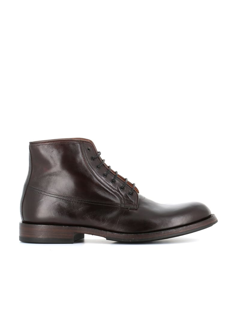 """Pantanetti Lace-up Boot """"12701f"""" - Brown"""