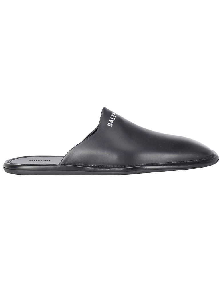 Balenciaga Mule - Black/white