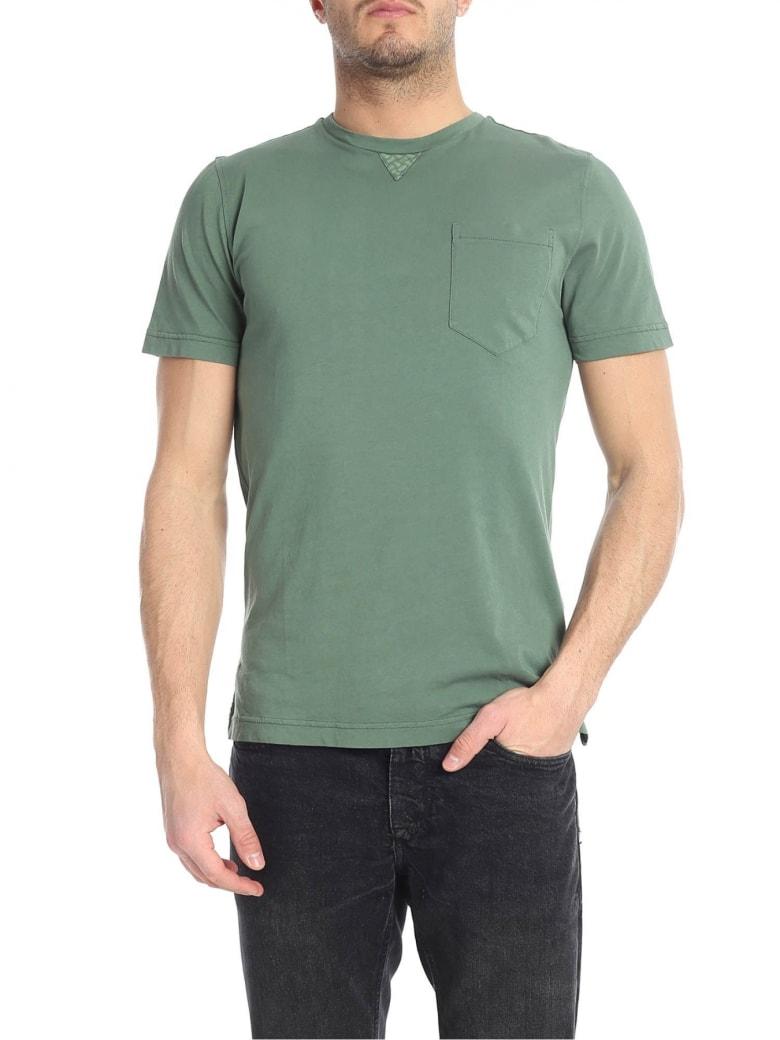 Drumohr T-shirt Cotton - Green