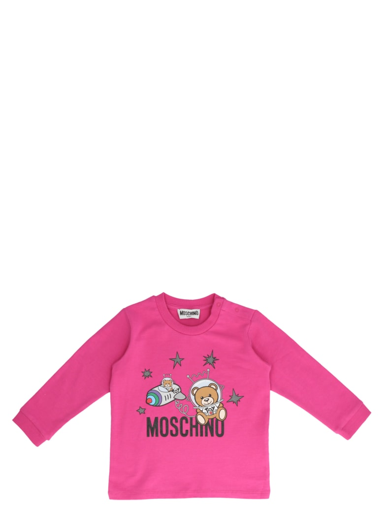 Moschino 'teddy' Suits - Fuchsia