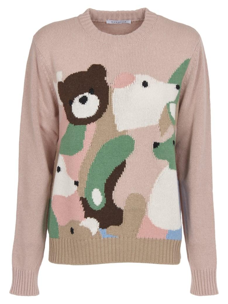 Vivetta Animal Jacquard Sweater - Pink