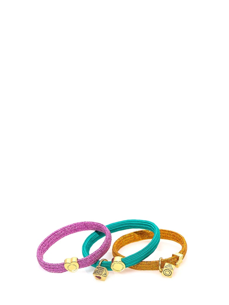 Marc Jacobs Hair Elastic - Gold