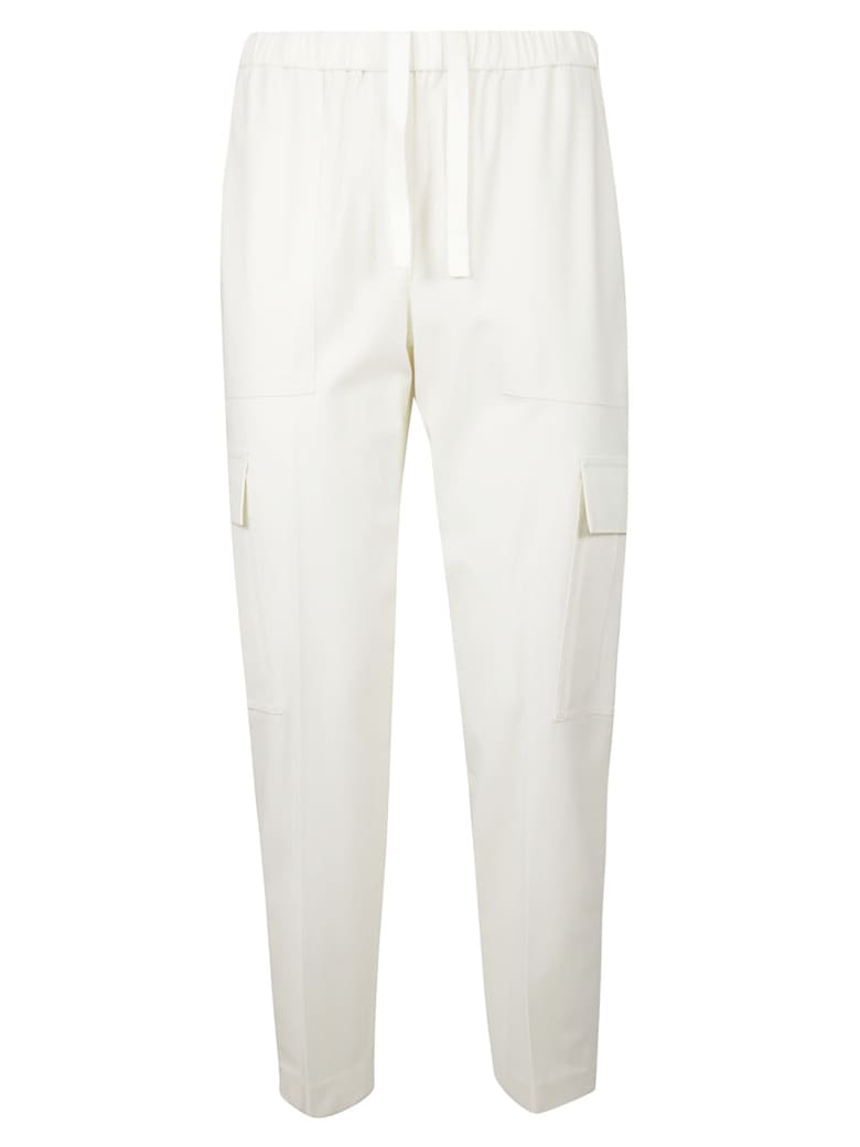 Theory Easy Cargo Trousers - Ivory