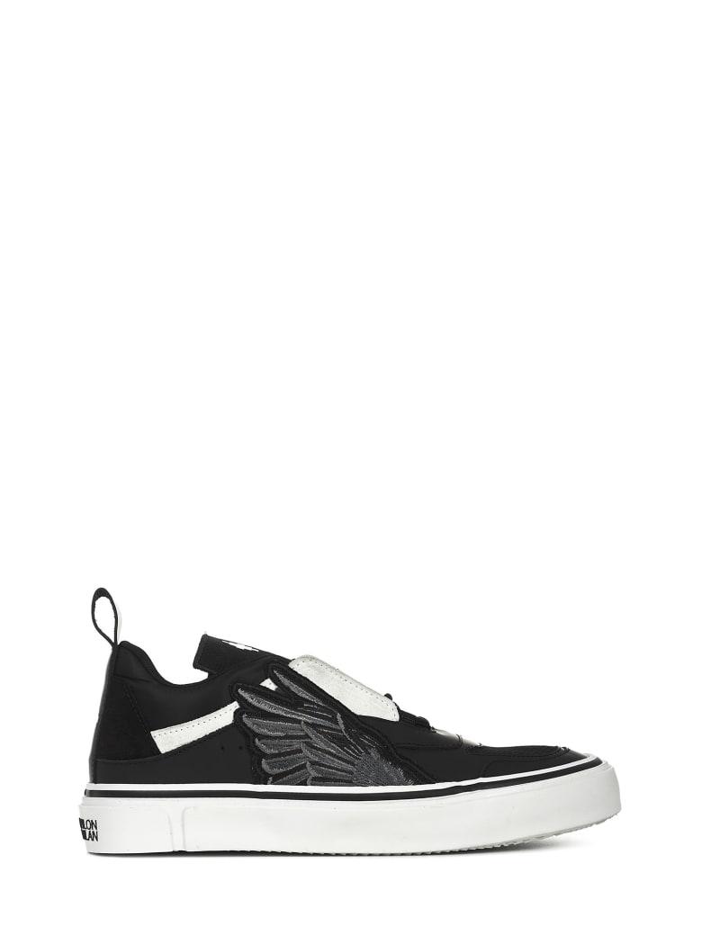 Marcelo Burlon Wings Sneakers - Black