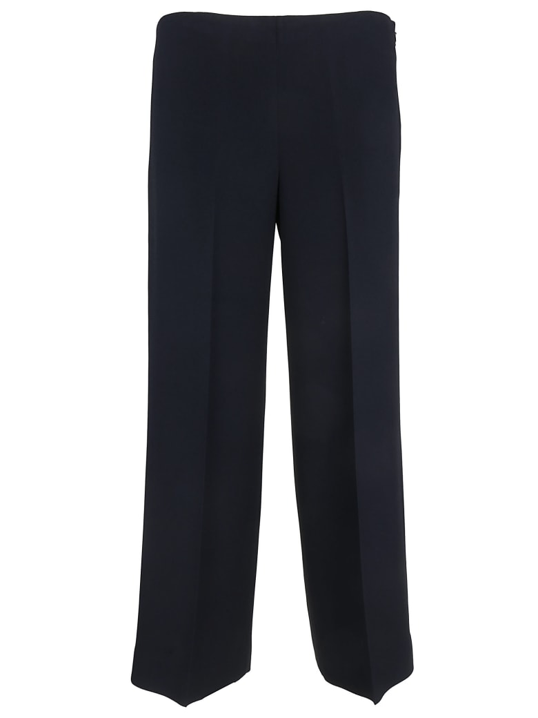 Theory Cropped Trousers - Navy