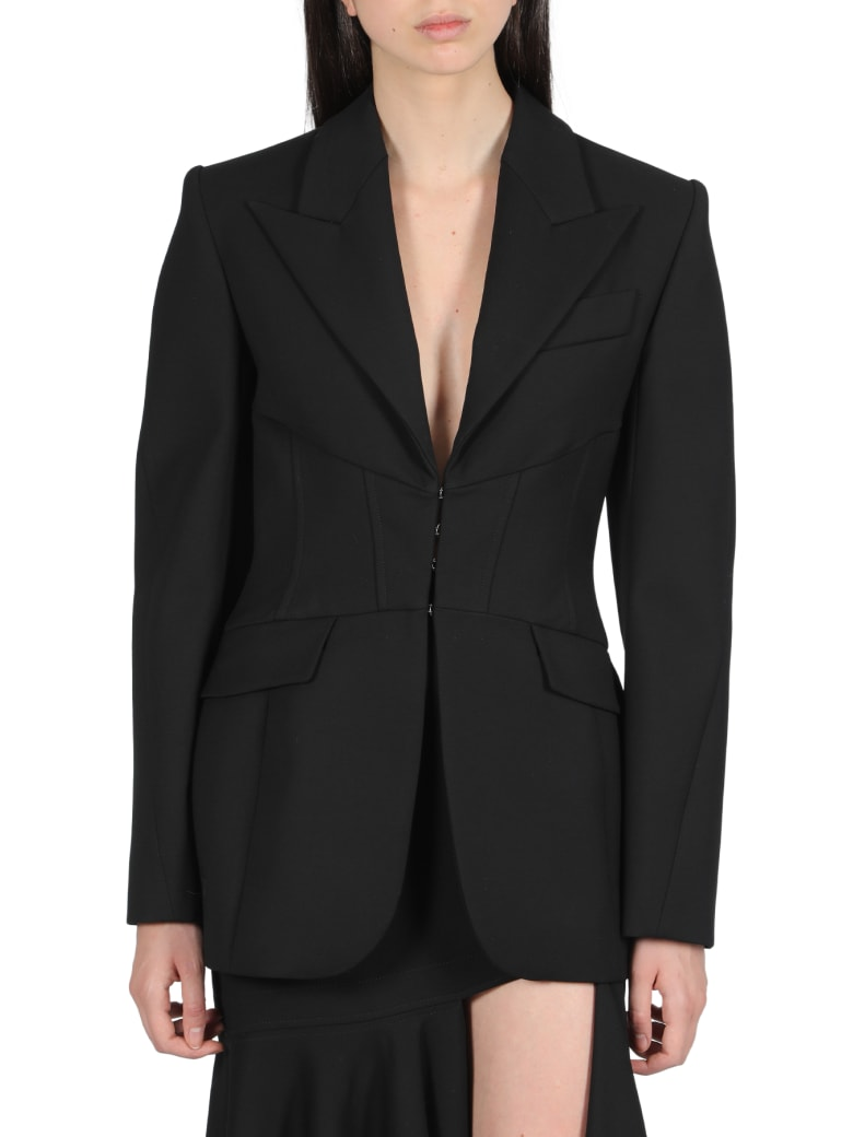Thierry Mugler Jacket With Bustier - Nero