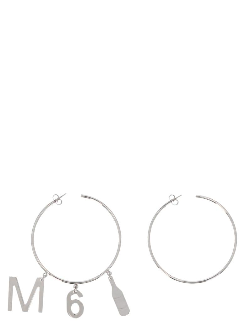 MM6 Maison Margiela Earrings - Silver