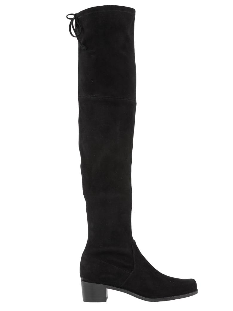 Stuart Weitzman Midland Boots - BLACK