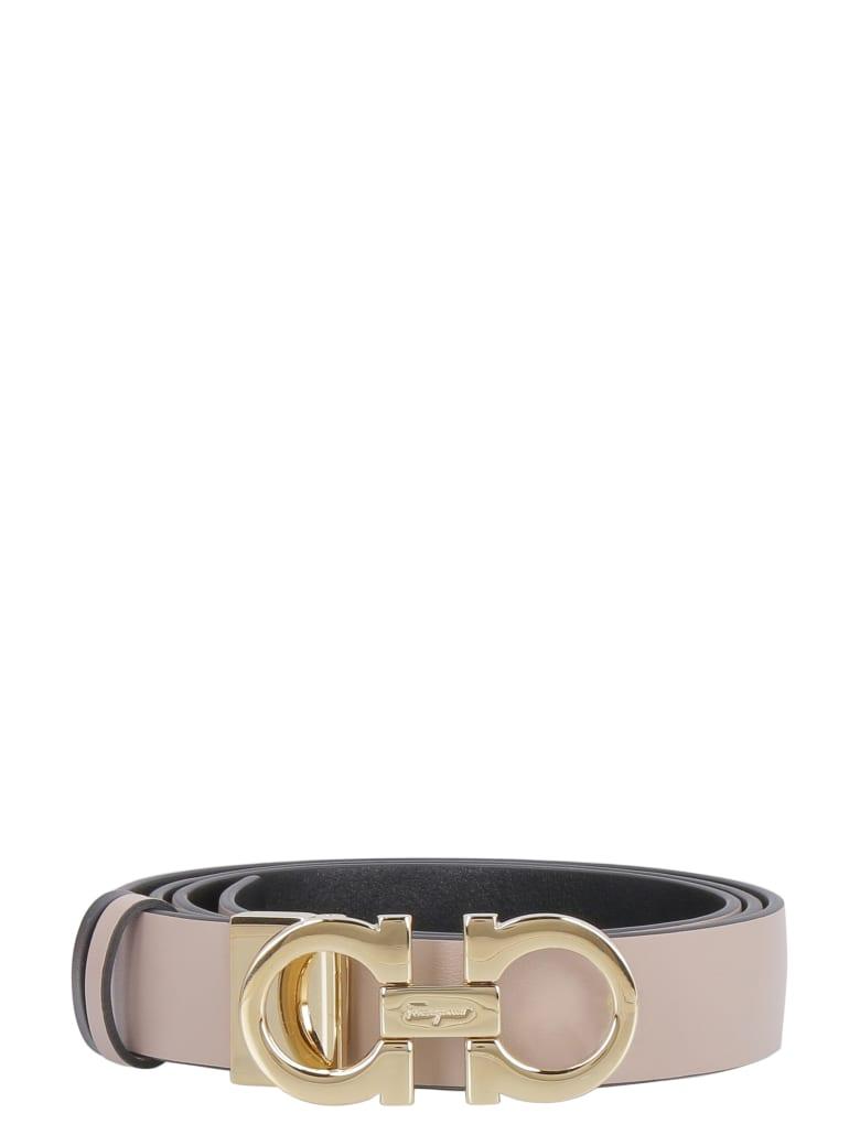 Salvatore Ferragamo Reversible Leather Belt by Salvatore Ferragamo