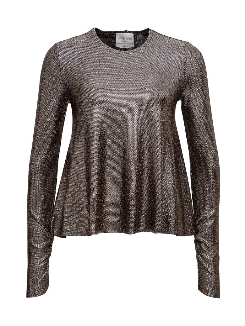 Forte_Forte Laminated Sweater - Black